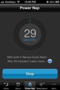 Sleep Genius iOS Power Nap