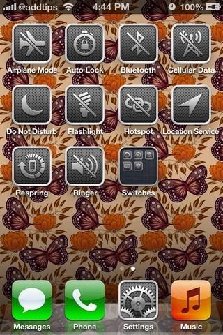 SwitchIcons iOS SpringBoard