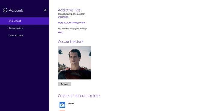 Windows 8.1 Accounts