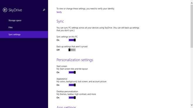 Windows 8.1 SkyDrive