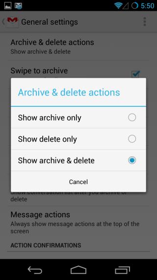 archive delete