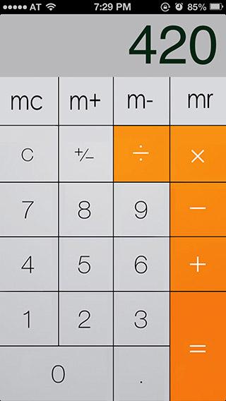 iOS-7-Calculator-app-theme