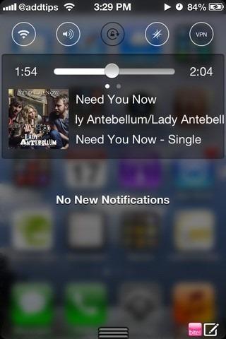 iOS 7 Control Toggle Icons NC