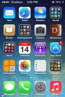 iOS 7 Theme SpringBoard