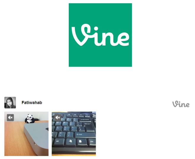 vine on facebook