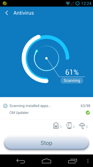 360 Mobile Security Scan