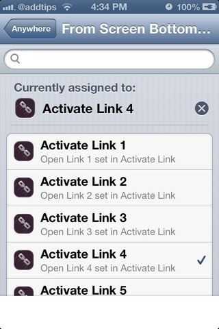 Activate Link iOS Activator