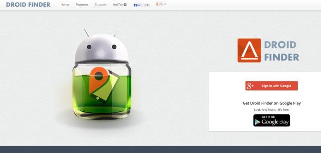 Droid Finder Web