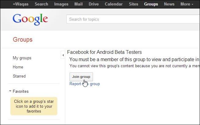 Facebook Beta Testing Program_Step 1