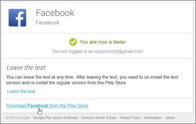 Facebook Beta Testing Program_Step 2.1