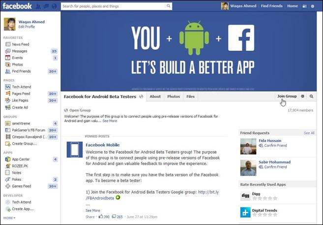 Facebook Beta Testing Program_Step 3