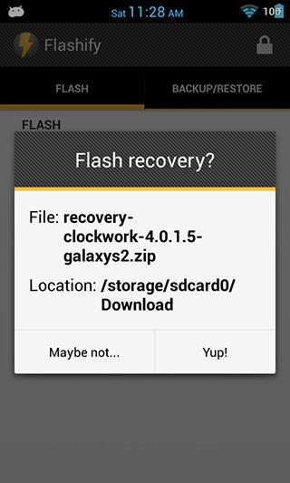Flashify-recovery-flashing