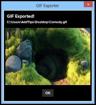 GIF Exporter