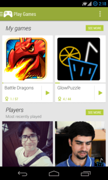 Google Play Games - Home 2