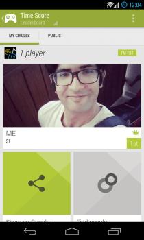 Google Play Games - Leaderboards - My Circles