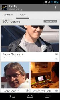 Google Play Games - Leaderboards - Public