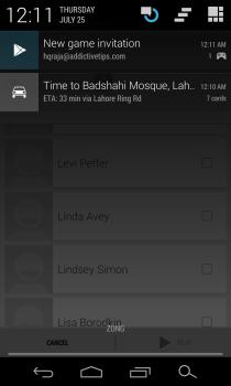 Google Play Games - Multiplayer - Invitation Notification
