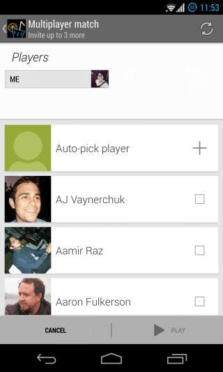 Google Play Games - Multiplayer - Invite 1