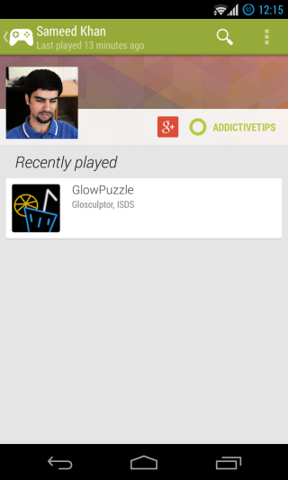 Google Play Games - Players - User Profile