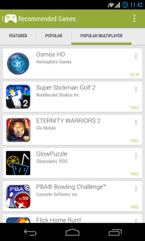 Google Play Games - Recommended - Popular Multiplayer