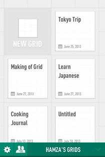 Grid iOS Home