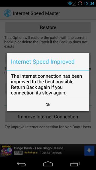 Internet Speed Master Apply