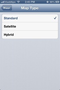 Mappr iOS Type