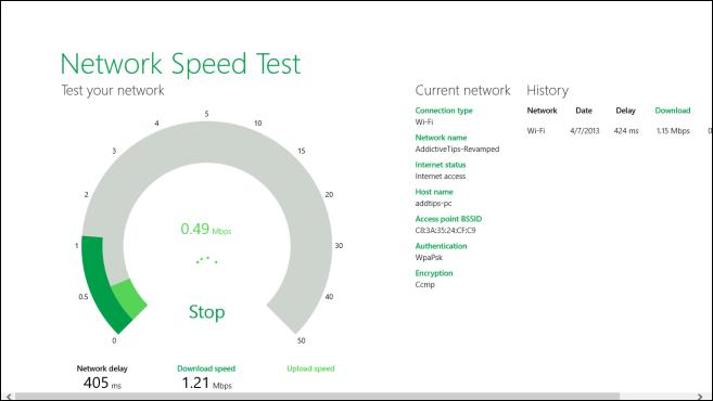 Network Speed Test_Start