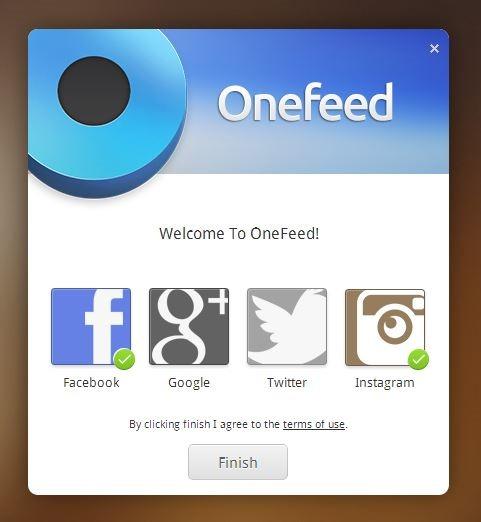 OneFeed Finish