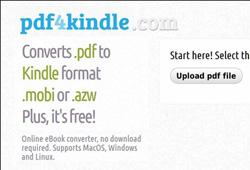 PDF4Kindle-PDF-to-MOBI-converter