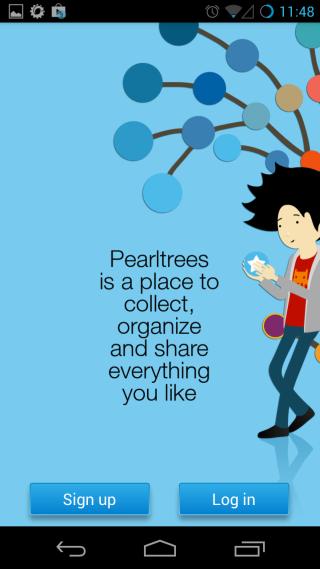 Pearltrees login