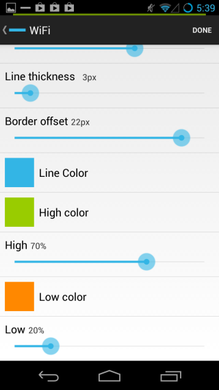 PowerLine battery options