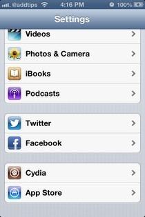 PreferenceOrganizer iOS Folders
