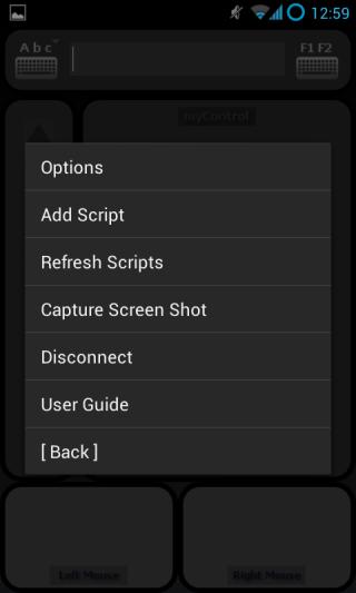 myControl options