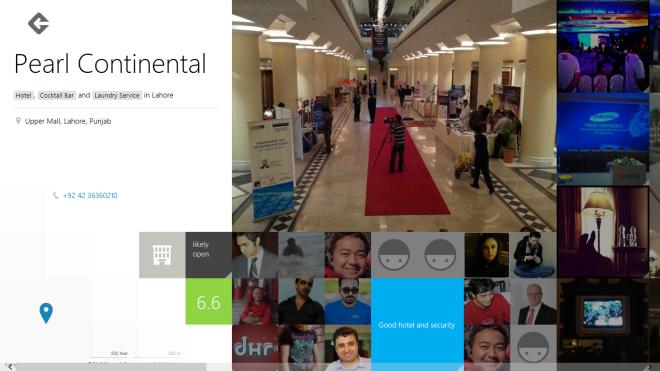 Foursquare location details