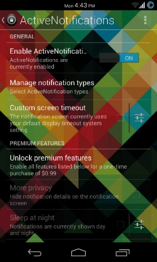 ActiveNotifications for Android 2