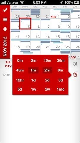 Calvetica Calendar iOS Date
