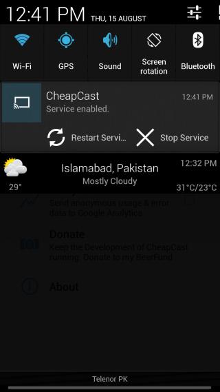 CheapCast_Notification