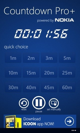 Countdown Pro  WP8