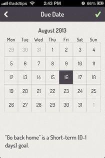 Done iOS Calendar