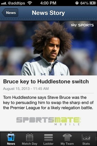EPL Live iOS Story