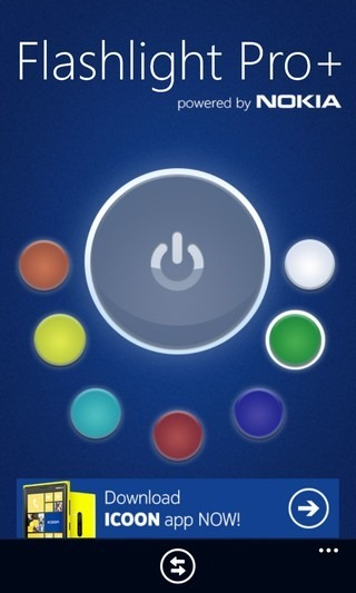 Flashlight Pro  WP8 Colo