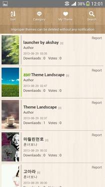Go Launcher Theme Maker 05