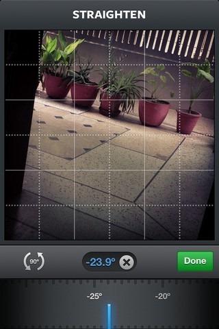 Instagram Straighten