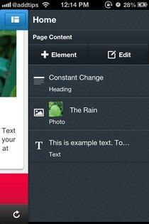 Jimdo iOS Elements