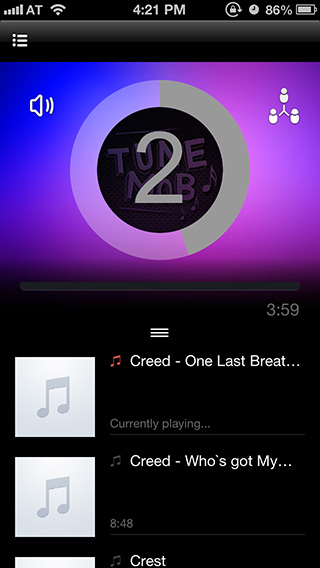 Joining-shared-music-playback-TuneMob-iOS
