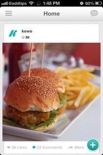 KeWe iOS Feed