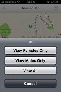 KeWe iOS Map