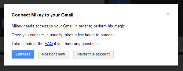 Mikey for Gmail