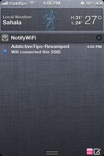 NotifyWifi iOS NC